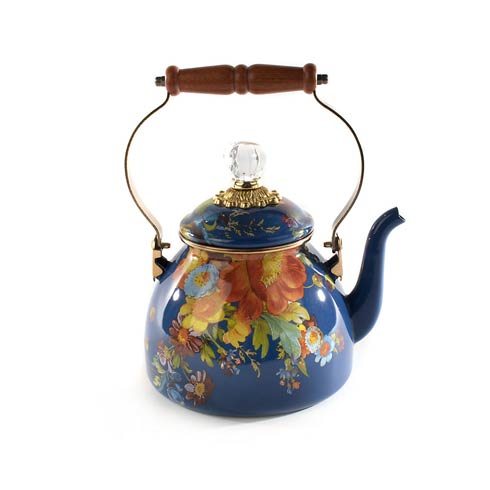 $125.00 Tea Kettle - 2 Quart - Lapis