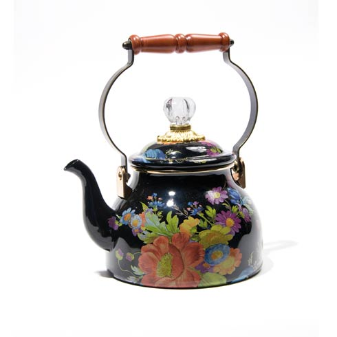 $128.00 2 Quart Tea Kettle - Black
