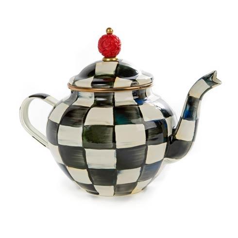 $98.00 Enamel Teapot - 4 Cup
