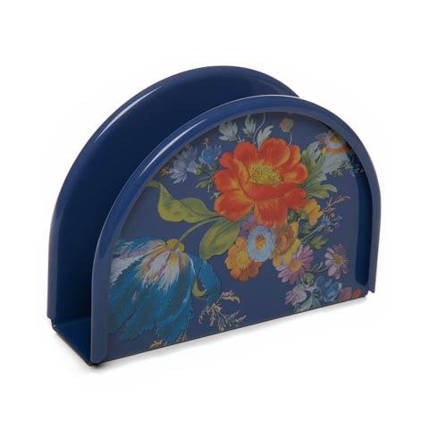 $52.00 Flower Market Napkin Holder - Lapis