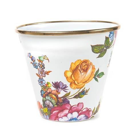 $36.00 Pot - White