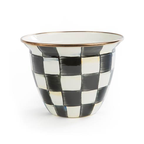 $48.00 Enamel Flower Pot - Large