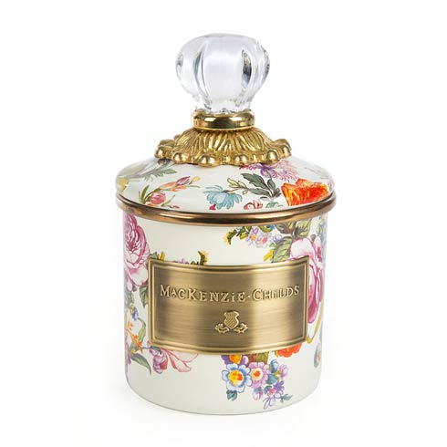 MacKenzie-Childs   Mini Canister - White $72.00