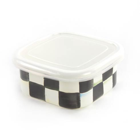 MacKenzie-Childs  Courtly Check Enamel Squarage Bowl - Small $28.00