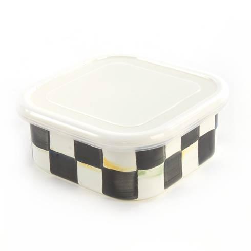 MacKenzie-Childs  Courtly Check Enamel Squarage Bowl - Medium $30.00