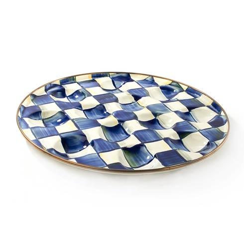 MacKenzie-Childs Royal Check Tabletop Egg Plate $62.00