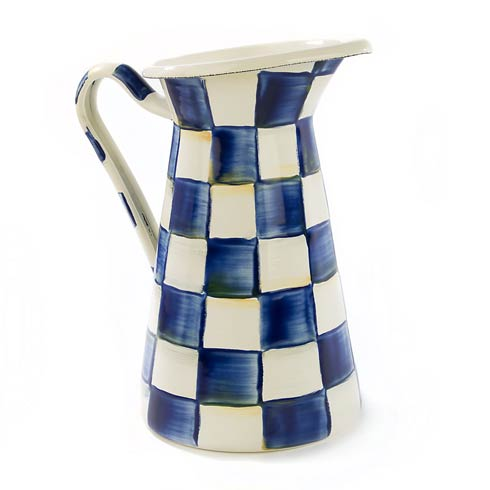 MacKenzie-Childs Royal Check Dining Practical Pitcher - Medium $88.00