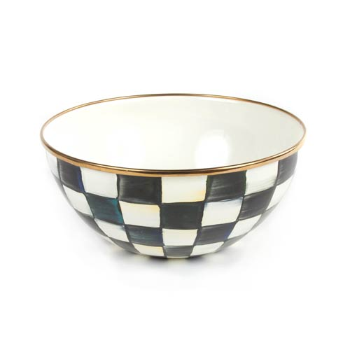 MacKenzie-Childs Courtly Check Tabletop Enamel Everyday Bowl - Small $58.00
