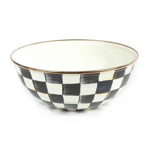 MacKenzie-Childs  Courtly Check Enamel Everyday Bowl - Medium $60.00