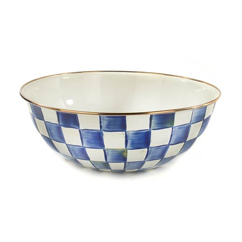 MacKenzie-Childs Royal Check Dining Everyday Bowl - Extra Large $85.00