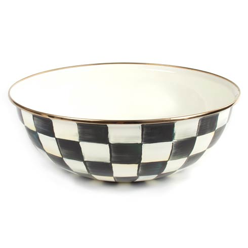 MacKenzie-Childs  Courtly Check Enamel Everyday Bowl - Extra Large $80.00