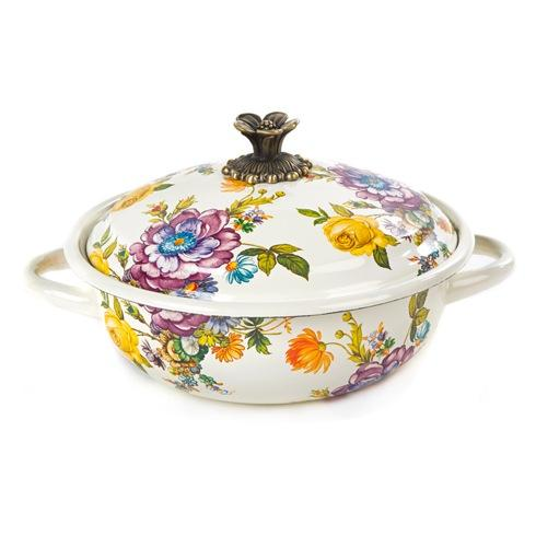MacKenzie-Childs  Flower Market  Casserbole - Medium $125.00