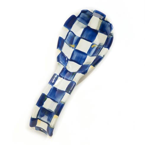 $52.00 Royal Check Spoon Rest