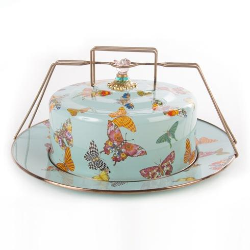 $170.00 Butterfly Garden Cake Carrier - Sky