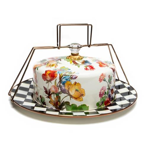 $208.00 Cake Carrier - White