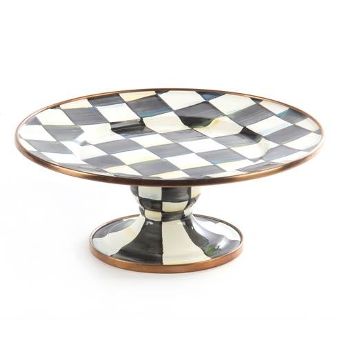 $55.00 Enamel Pedestal Platter - Mini