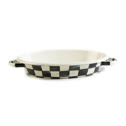 $98.00 Enamel Oval Gratin Dish - Medium