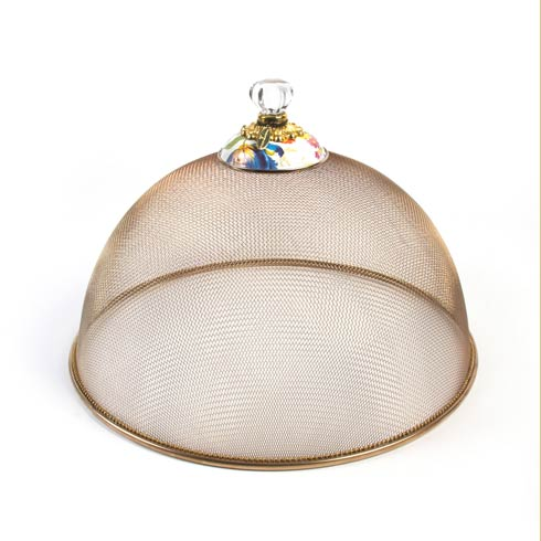 MacKenzie-Childs Flower Market Tabletop Mesh Dome - Large $138.00