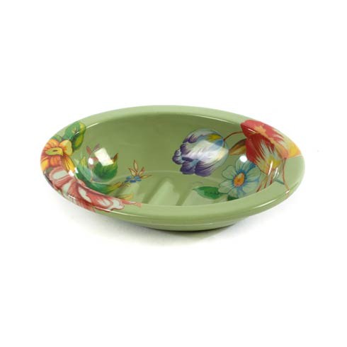$28.00 Soap Dish - Green