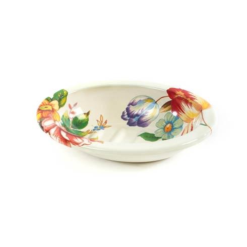 MacKenzie-Childs  Flower Market  Flower Market Soap Dish - White $28.00