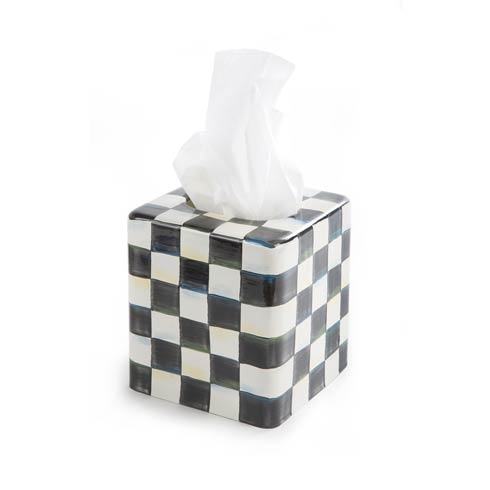 $58.00 Enamel Tissue Box Cover