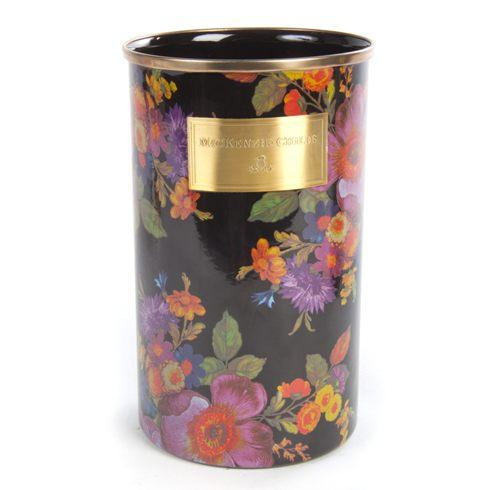 MacKenzie-Childs  Flower Market  Utensil Holder - Black $74.00