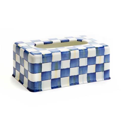 $82.00 Royal Check Standard Tissue Box Cover