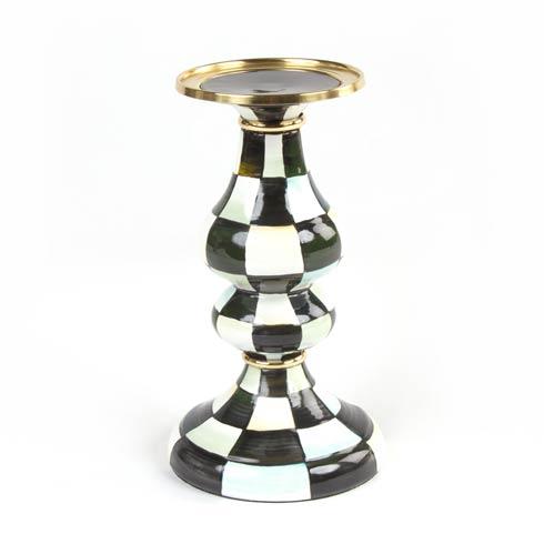 MacKenzie-Childs Glow Candleholders & Accessories Enamel Pillar Candlestick - Medium $110.00