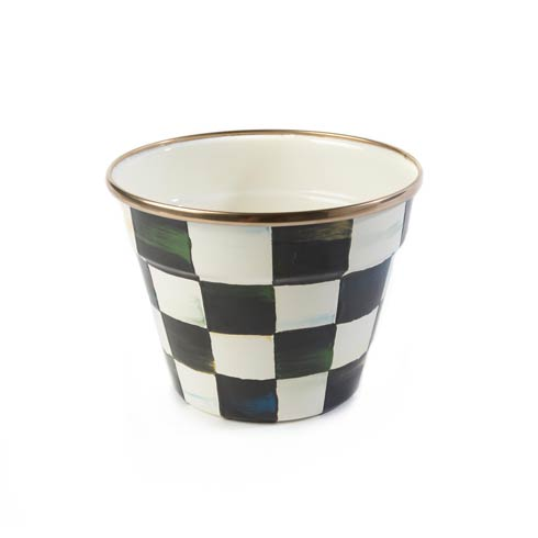 $58.00 Enamel Garden Pot - Small