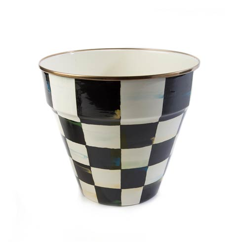 $78.00 Enamel Garden Pot - Large