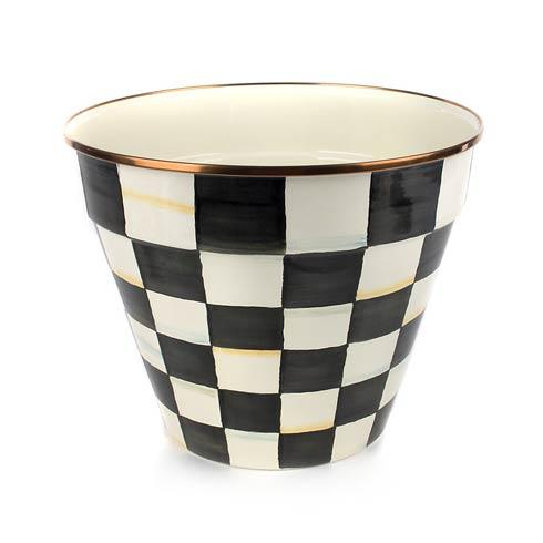 $88.00 Enamel Garden Pot - Extra Large