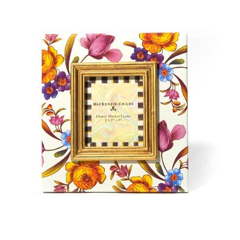 Flower Market 2.5 In.  X 3 In.  Frame - White