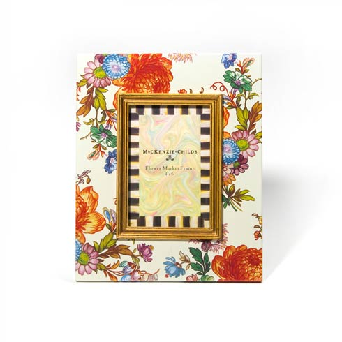$82.00 Flower Market 4 In.  X 6 In.  Frame - White
