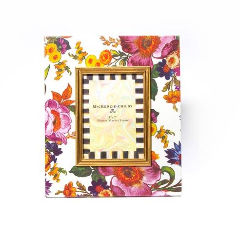 $100.00 Flower Market 5 In.  X 7 In.  Frame - White