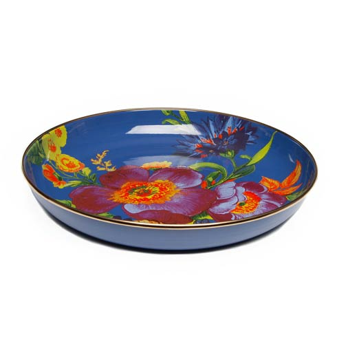 $92.00 Flower Market Abundant Bowl - Lapis