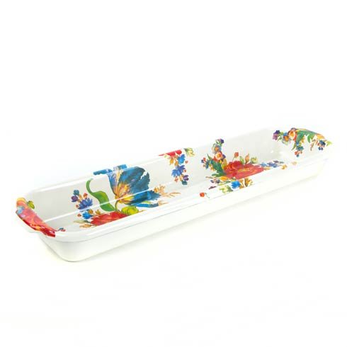 MacKenzie-Childs Flower Market Tabletop Baguette Dish $98.00