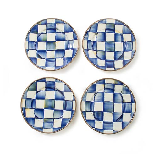 $98.00 Canape Plates - Set Of 4