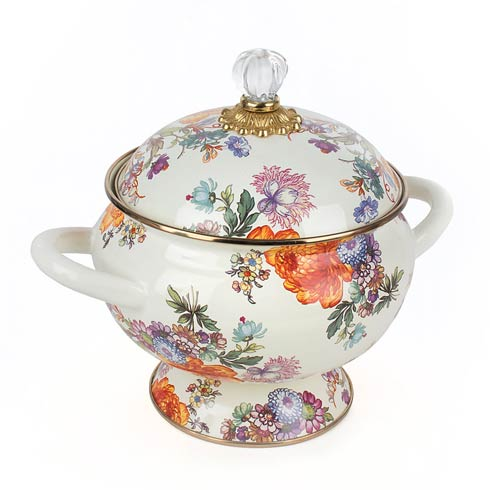 Tureen - White collection with 1 products