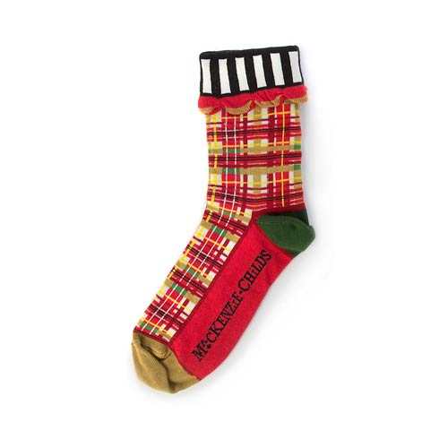 Red Tartan Ankle Socks collection with 1 products