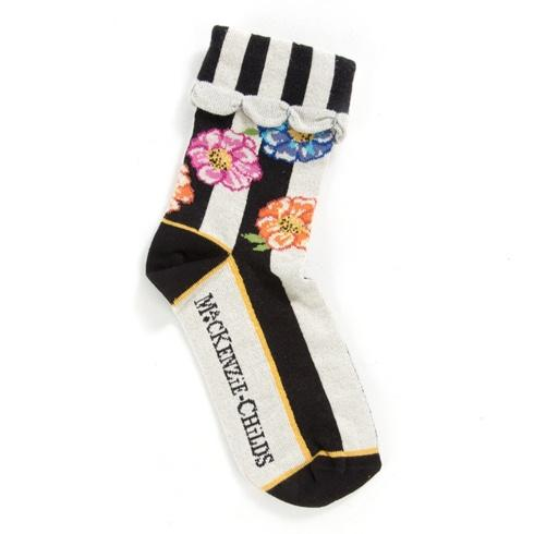 $28.00 Cutting Garden Ankle Socks