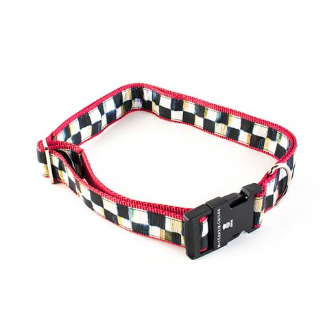 $58.00 Courtly Check Couture Collar - Red - Extra Large