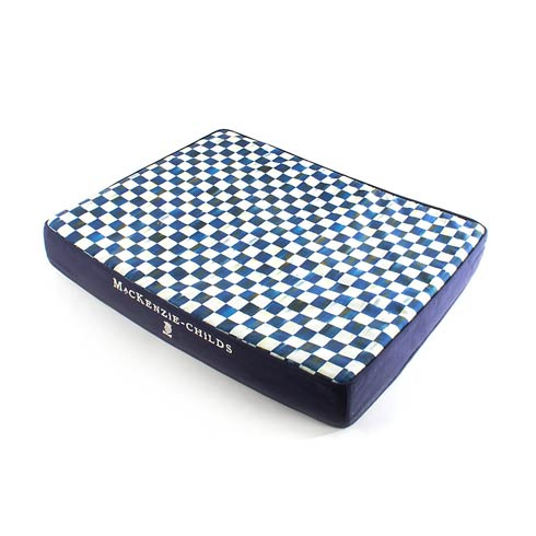 $148.00 Royal Check Bed - Blue - Small