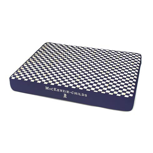 $225.00 Royal Check Bed - Blue - Medium