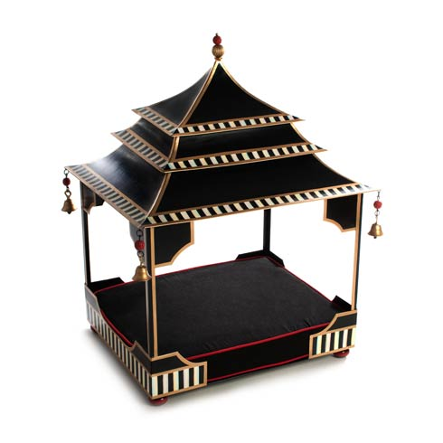 $495.00 Courtly Pagoda Pet Bed