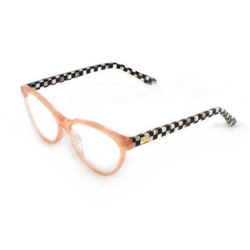 $85.00 Rose Gold Leno Readers - X2.5