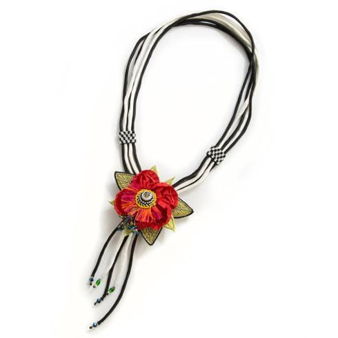 $65.00 Poppy Lariat Necklace