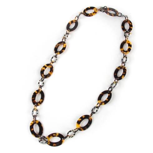 $210.00 Liaison Long Necklace - Tortoise