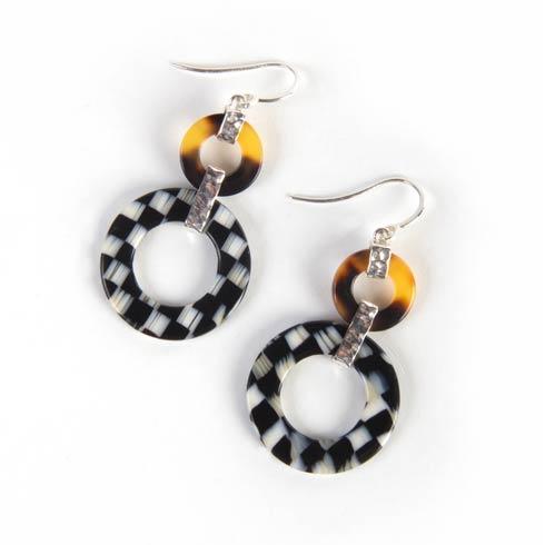 $115.00 Liaison Round Earrings
