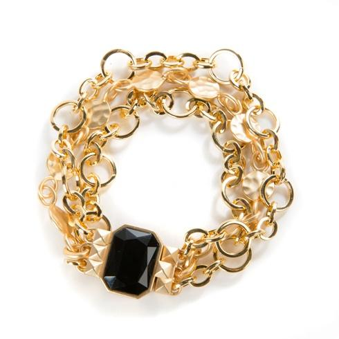 $100.00 Circle & Dot Charm Bracelet - 7.5 In.