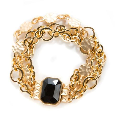 $100.00 Circle & Dot Charm Bracelet - 8.5 In.
